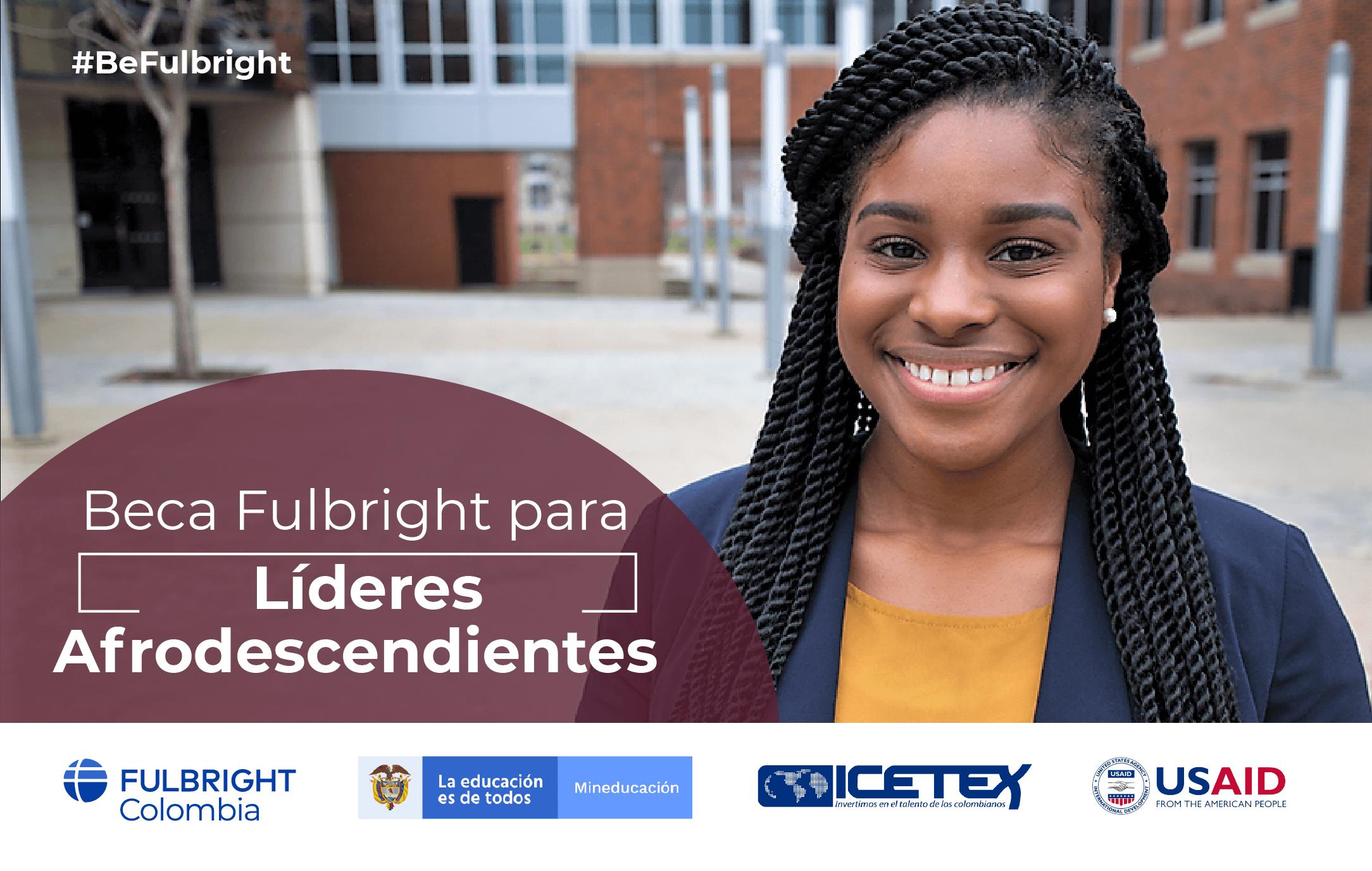 Beca Fulbright para líderes afrodescendientes 2020