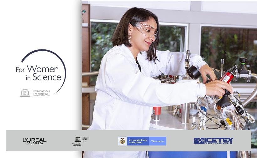 Convocatoria del Programa Nacional L'Oréal-Unesco por las Mujeres en la Ciencia Colombia 2020